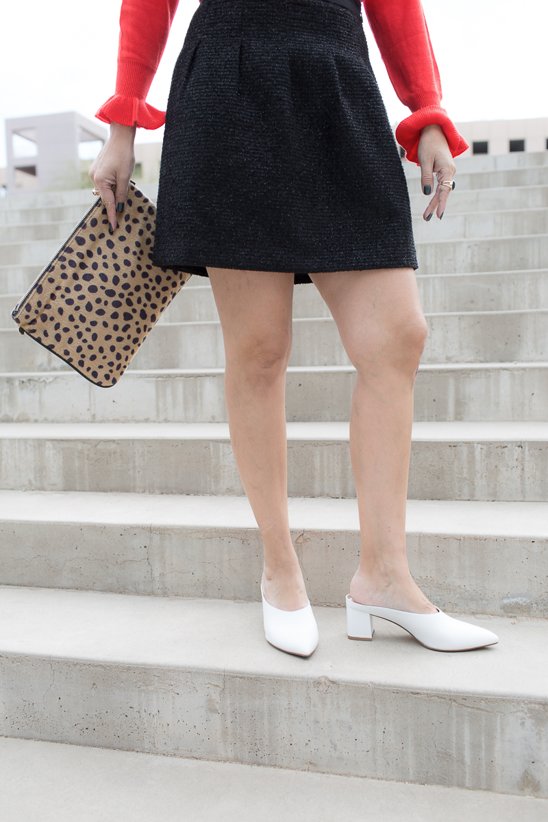 All The Prettys-White Angle Shoes